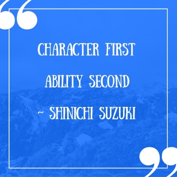 Character FirstAbility Second